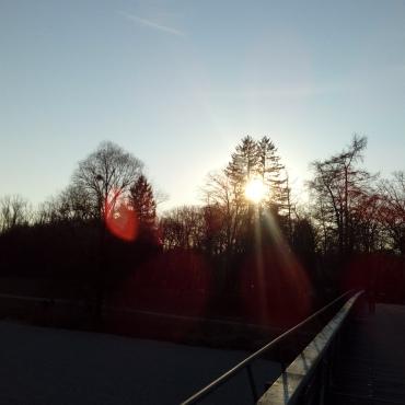 Sonnenuntergang an der Marienklause
