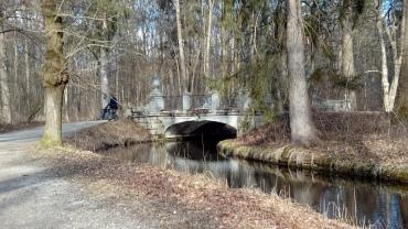 Brücke zur Pagodenburg