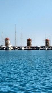 Alter Stadthafen Rhodos